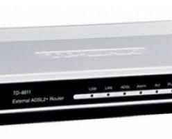 TP-LINK TD-W8151N – роутер с модемом и модулем  Wi-Fi внутри.