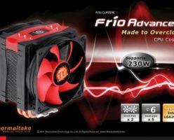 Thermaltake Frio Advanced мультиплатформенный процессорный кулер