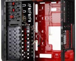 Нестандартное расположение системной платы в корпусе Cable-Routing King C2 от Colorful