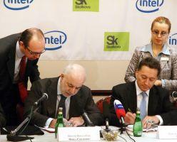 Подписано соглашение о создании в Сколково центра разработок Intel