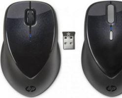 Hewlett-Packard расширила ассортиментный ряд периферии беспроводными манипуляторами мышь HP X4000 и X5000
