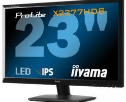Монитор iiyama ProLite X2377HDS-1 с панелью IPS