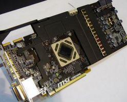 Усиленная для экстремальных режимов видеокарта  MSI R7970 Lightning