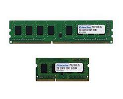 Двенадцать комплектов памяти DDR3-1600 от Princeton