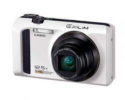 Компактная камера Exilim EX-ZR300 от  Casio с быстрым автофокусом  и поддержкой технологии Toshiba FlashAir
