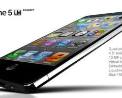 Концепт Apple iPhone 5 в корпусе от Liquidmetal