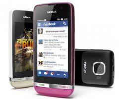 Asha 305, 306 и 311 – новые телефоны от  Nokia с трехдюймовым сенсорным экраном