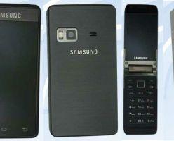 Android-смартфон от Samsung с двумя дисплеями