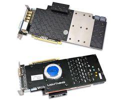 «Молниеносная» видеокарта MSI Radeon HD 7970 GHz Edition с водяным охлаждением.