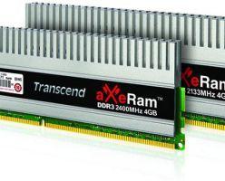 «Новенькие» наборы памяти от компании Transcend — aXeRam DDR3 для настоящих энтузиастов