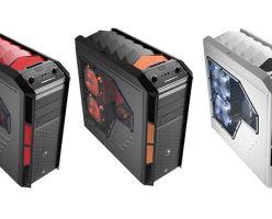 Aerocool XPREDATOR X3: игровой корпус представлен в трёх вариантах окраски