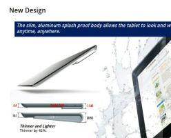 Появилась информация о выходе планшет Xperia Tablet от Sony.