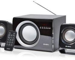 2.1-канальная система эконом класса SVEN MS-300 с интерфейсами для SD-карт и USB