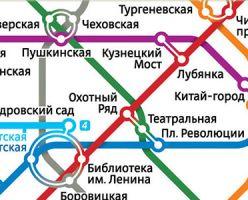 Интернет выбрал новую схему метро