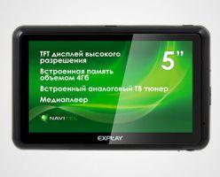 Explay GTC5 — навигатор и ТВ в одном корпусе
