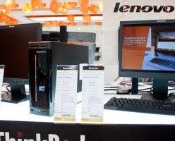 Lenovo привезла в Россию настольные ПК