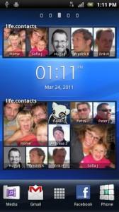 Sony Ericsson life.contacts