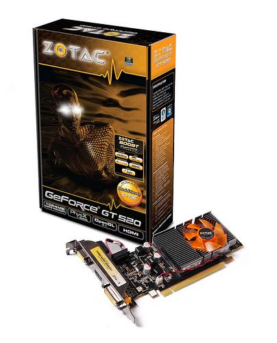 ZOTAC GeForce GT 520