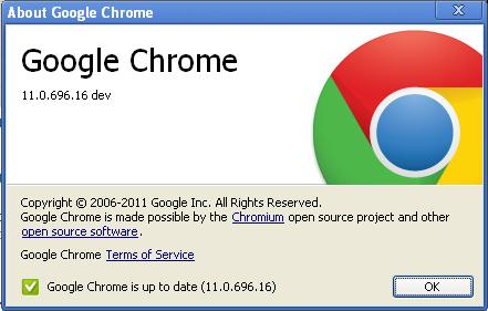 Google Chrome 11 - речевой ввод