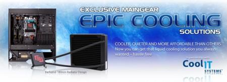 Maingear - системы жидкостного охлаждения EPIC