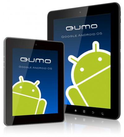 Android планшеты QUMO 2Go! и QUMO Dotcom этим летом