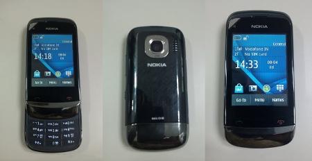 Двухсимочная Nokia C2-06 с тачскрином