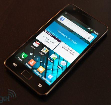 Двухъядерный 2 ГГц  смартфон Samsung в 2012 году