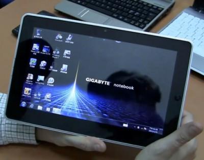 Планшет Gigabyte S1080 на Windows 7