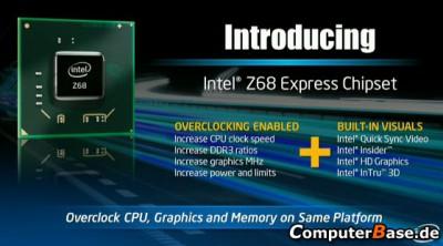 Чипсет Z68 от Intel, фирменная системная плата DZ68DB и SSD 311 Series