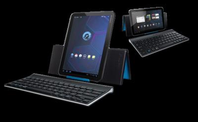 Аксессуары от Logitech для iPad и Android планшетов