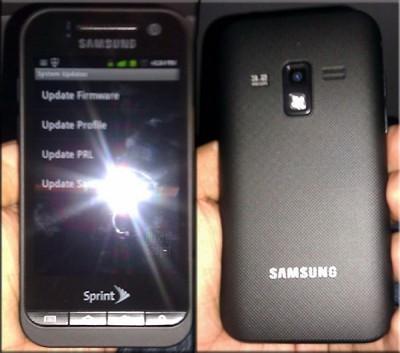 Недорогой WiMAX смартфон Samsung SPH-D600