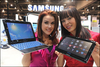 Предзаказ на Samsung Sliding PC 7 Series