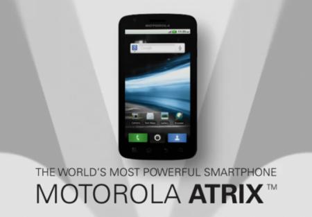 Motorola ATRIX на NVIDIA Tegra 2 уже в Европе
