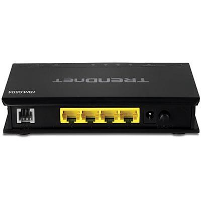 ADSL 2/2+ модем-маршрутизатор TRENDnet TDM-C504 на 4 порта