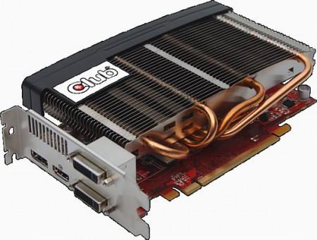 Radeon HD 6750 от Club 3D с пассивным кулером