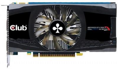 GeForce GTX 560 с кулером CoolStream от Club 3D