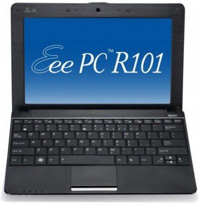 ASUS Eee PC X101 с MeeGo и Windows 7