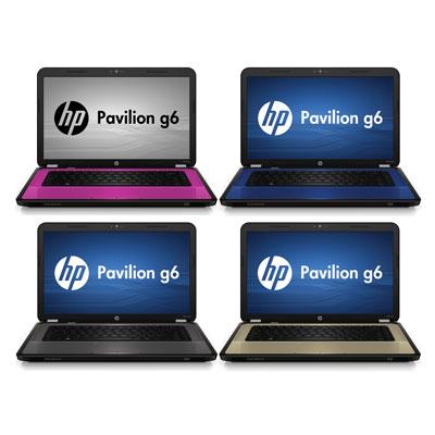 HP Pavilion g6s на Intel Sandy Bridge
