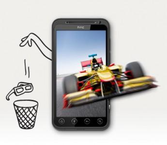 3D смартфон HTC Rider