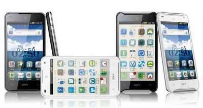 Pantech Vega Racer - первый двухъядерным 1,5 ГГц смартфон
