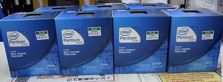 Sandy Bridge добавляет семь моделей Core и Pentium