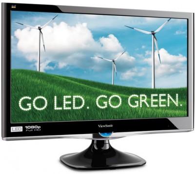 Новые LED мониторы представила в Москве ViewSonic