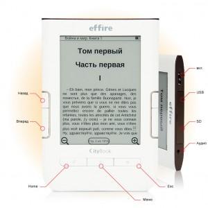effire CityBook L600 - бюджетный ридер
