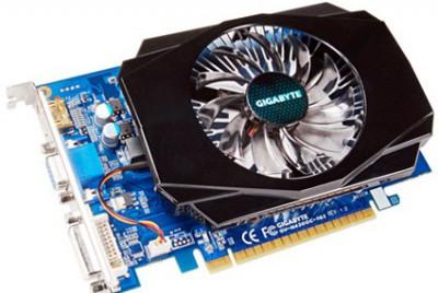 GeForce GT 430 с UD2 и нестандартным кулером от Gigabyte