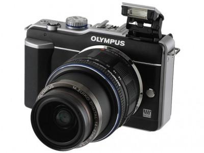 Olympus E-PM1 с сенсорным экраном
