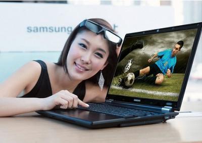 Ноутбук Samsung RF712 - 3D на высокой яркости
