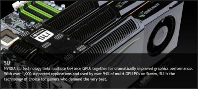 У системныех платы с чипсетами AMD 9 Series не будет поддержки SLI до обновления драйвера NVIDIA