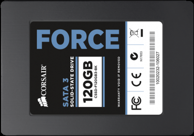 Corsair отзывает SSD Force Series 3 емкостью 120 ГБ