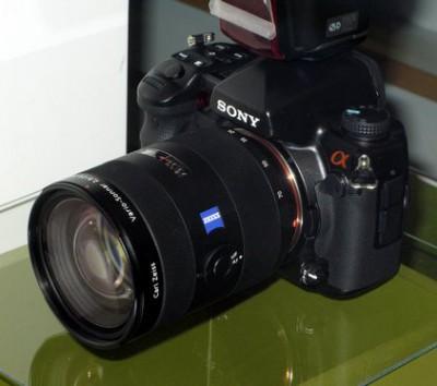 Sony Alpha A77 и A65 с полупрозрачным зеркалом