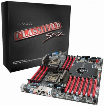 Материнскяю плата на Intel X79 с двумя сокетами LGA 2011 от EVGA